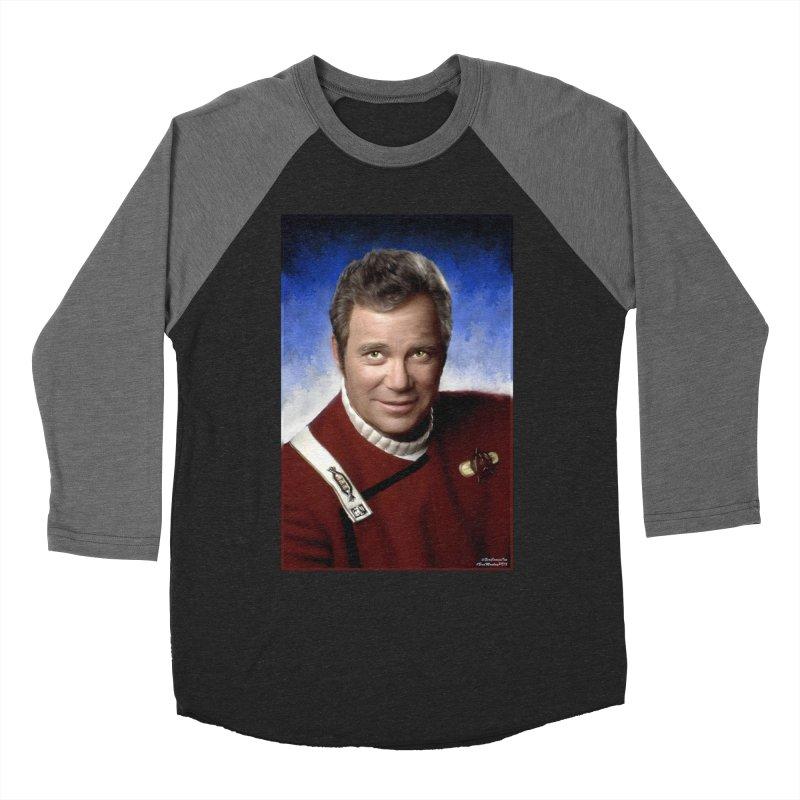 Star Trek - Captain James T. Kirk - William Shatner Women's Longsleeve T-Shirt by Evolution Comics INC