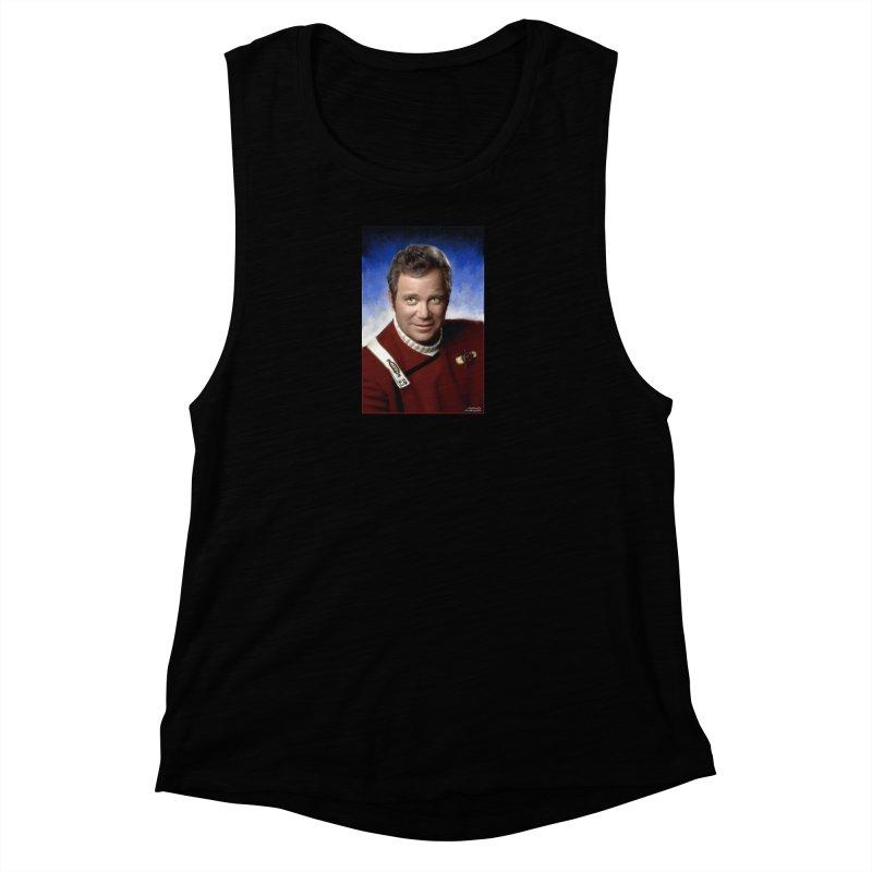 Star Trek - Captain James T. Kirk - William Shatner Women's Tank by EvoComicsInc's Artist Shop