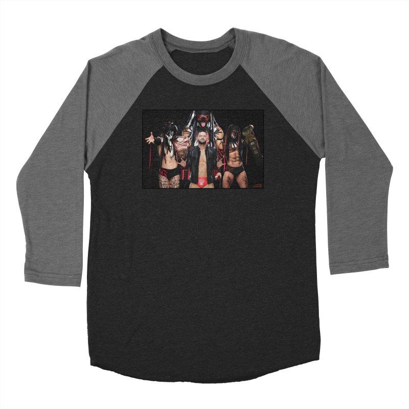 Finn Balor - Demon Women's Baseball Triblend Longsleeve T-Shirt by Evolution Comics INC