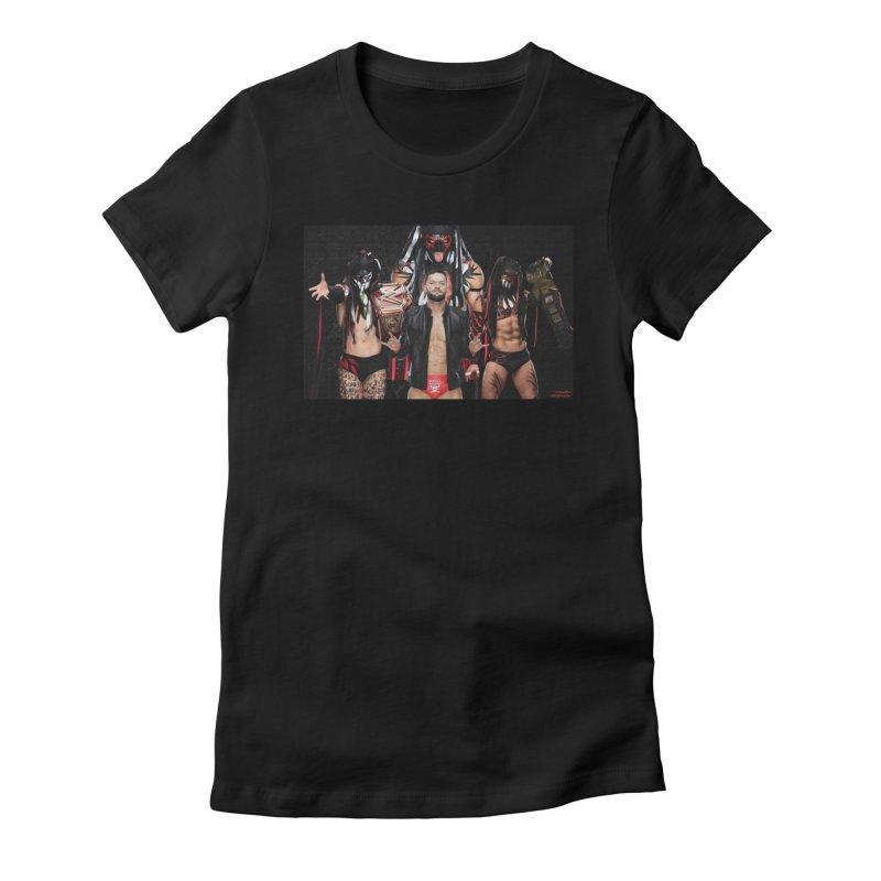 Finn Balor - Demon Women's Fitted T-Shirt by EvoComicsInc's Artist Shop