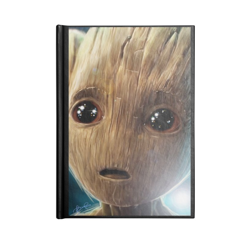 Groot (Baby) Accessories Notebook by EvoComicsInc's Artist Shop