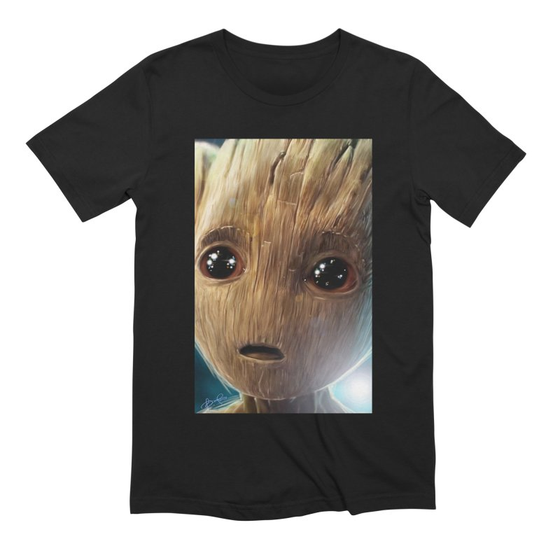Groot (Baby) Men's Extra Soft T-Shirt by EvoComicsInc's Artist Shop