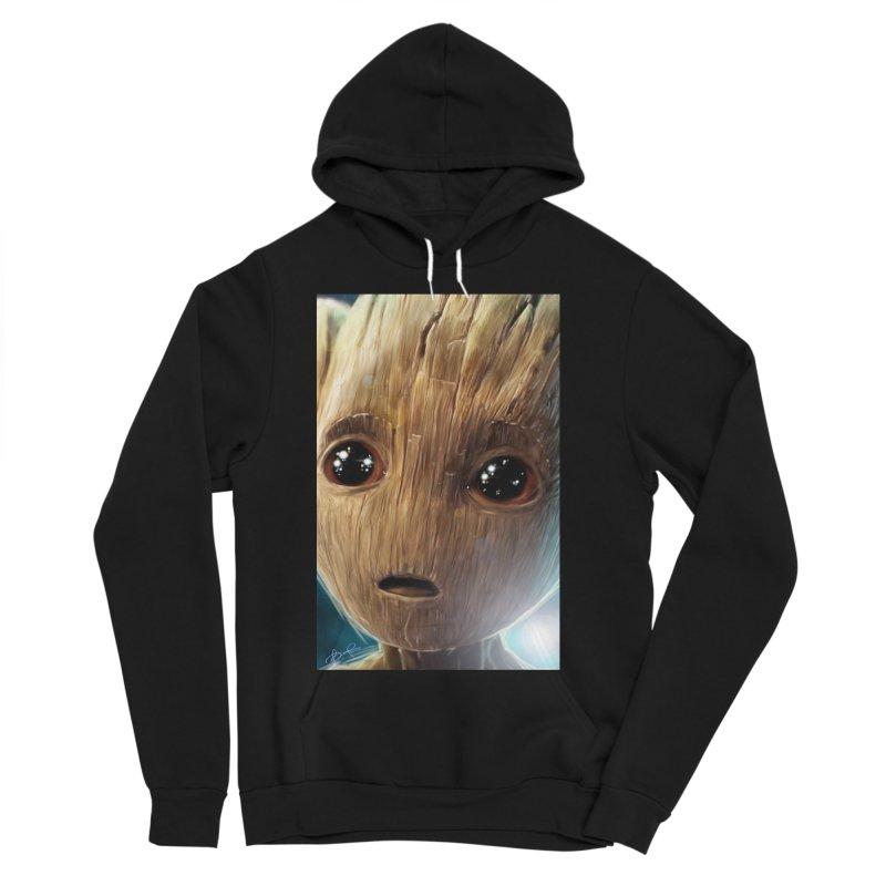 Groot (Baby) Women's Sponge Fleece Pullover Hoody by EvoComicsInc's Artist Shop