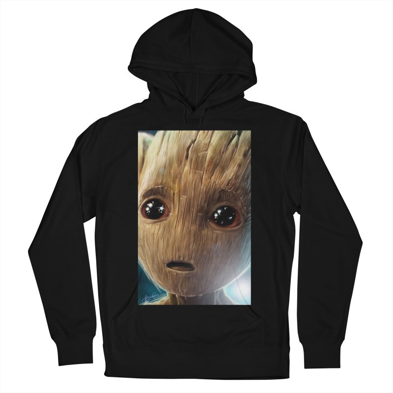 Groot (Baby) Men's French Terry Pullover Hoody by Evolution Comics INC