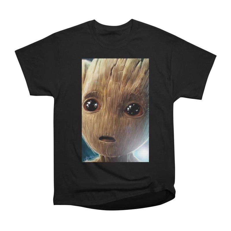 Groot (Baby) Women's Heavyweight Unisex T-Shirt by EvoComicsInc's Artist Shop