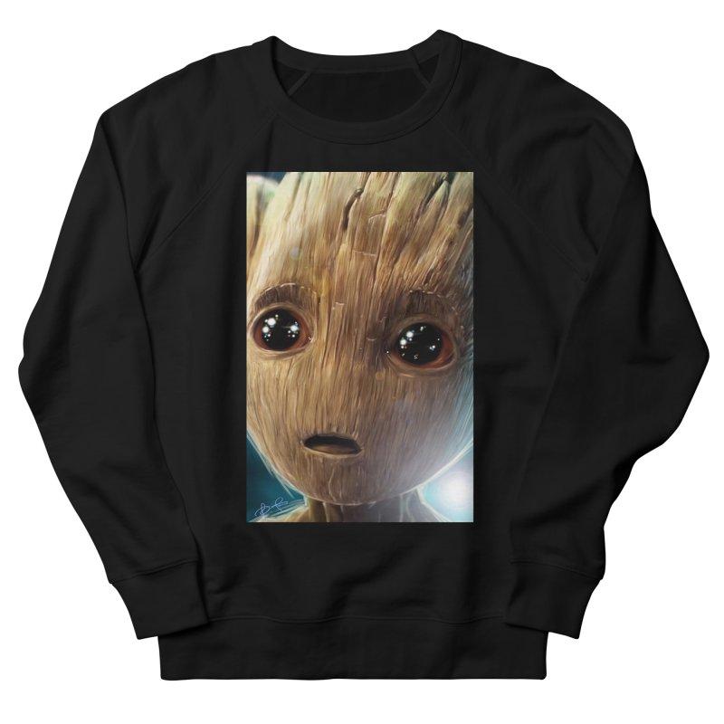 Groot (Baby) Men's French Terry Sweatshirt by EvoComicsInc's Artist Shop