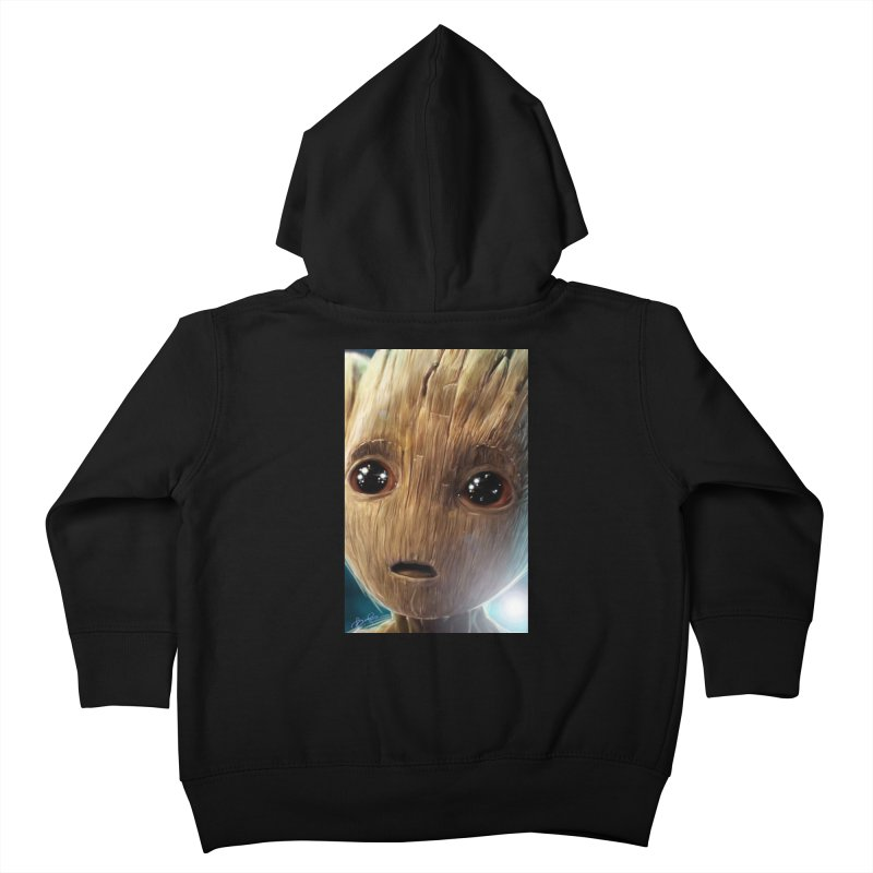 Groot (Baby) Kids Toddler Zip-Up Hoody by Evolution Comics INC