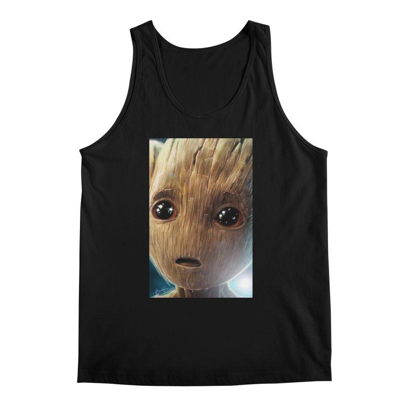 Groot (Baby) Men's Regular Tank by EvoComicsInc's Artist Shop