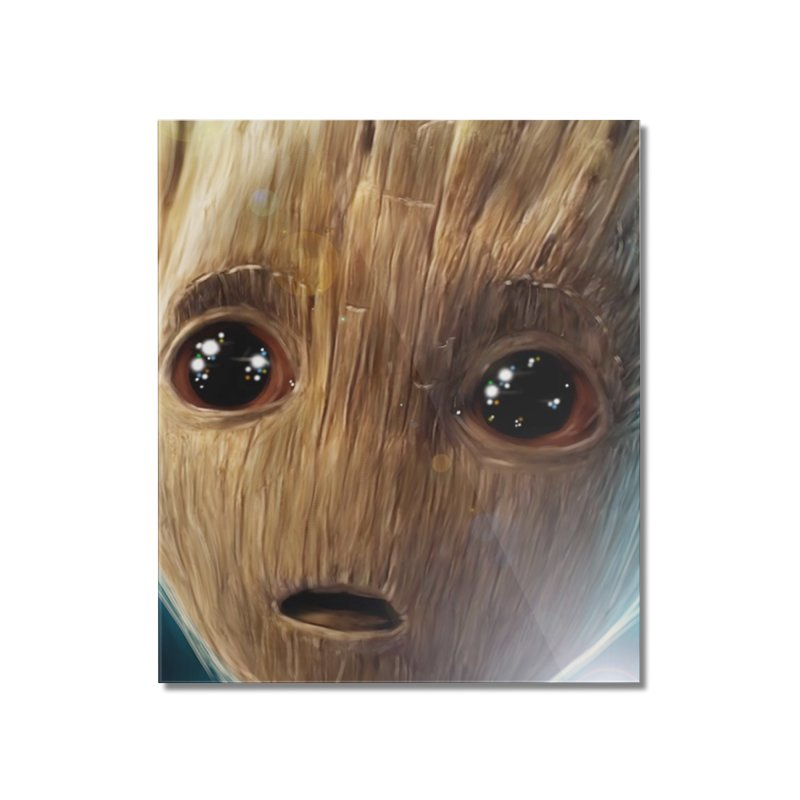Groot (Baby) Home Mounted Acrylic Print by EvoComicsInc's Artist Shop