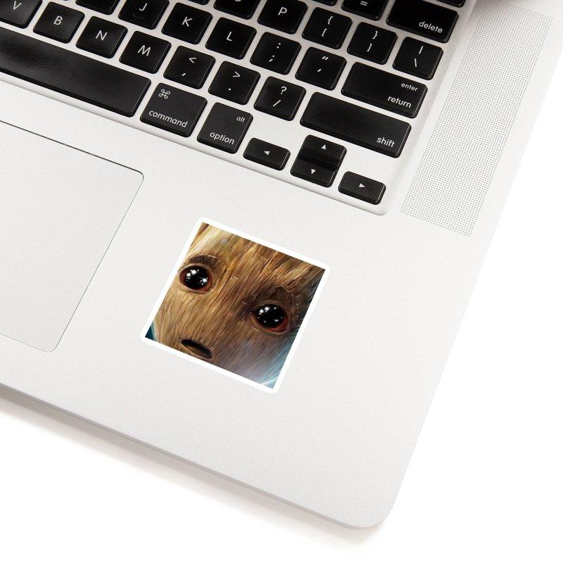 Groot (Baby) Accessories Sticker by EvoComicsInc's Artist Shop