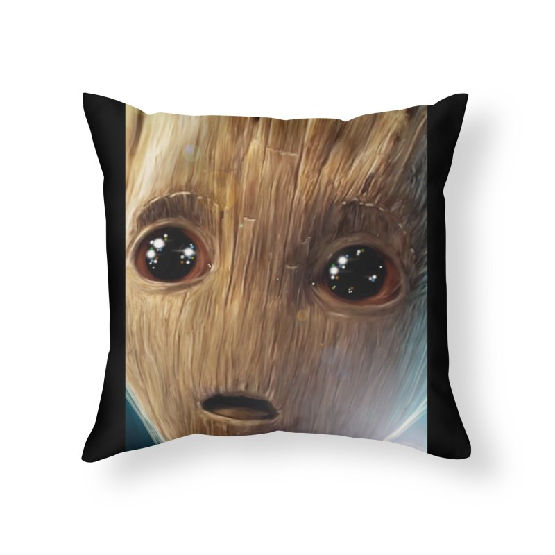 Groot (Baby) Home Throw Pillow by EvoComicsInc's Artist Shop
