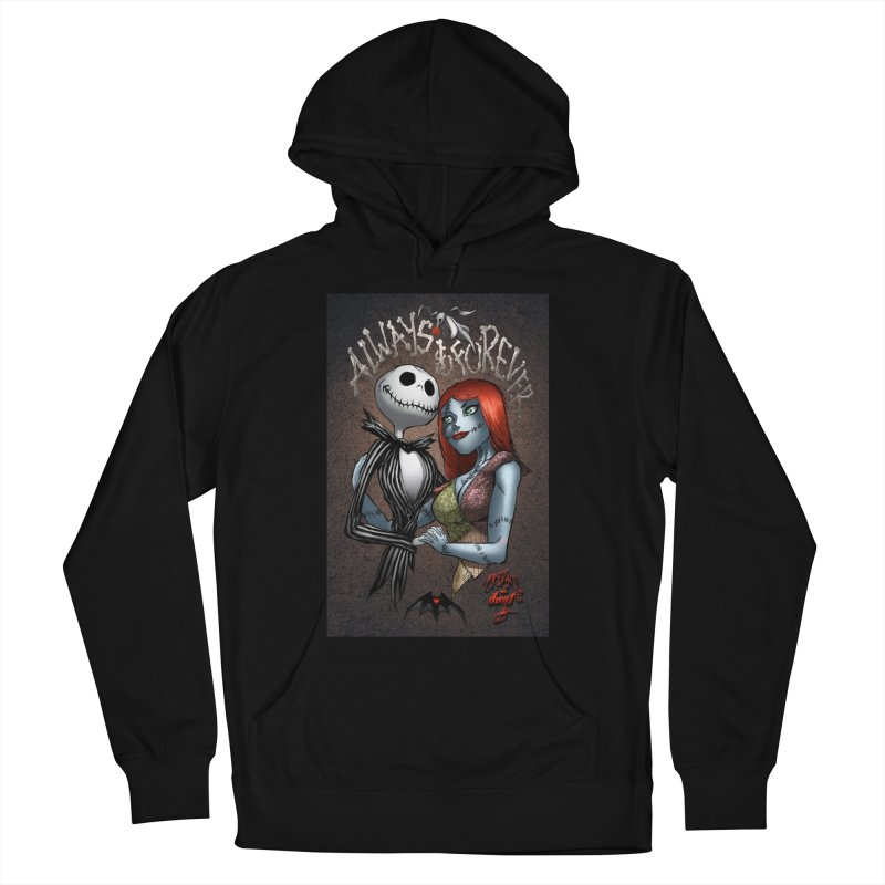 Jack & Sally - Always & Forever Women's Pullover Hoody by Evolution Comics INC