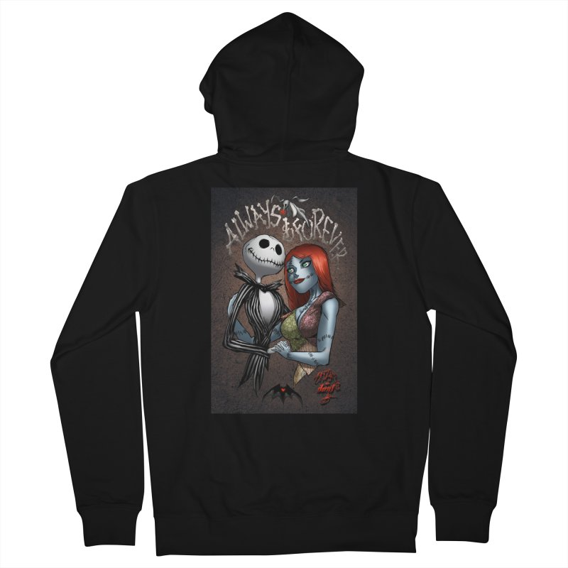 Jack & Sally - Always & Forever Women's Zip-Up Hoody by Evolution Comics INC