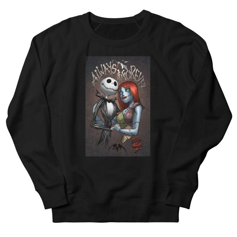 Jack & Sally - Always & Forever Women's Sweatshirt by Evolution Comics INC
