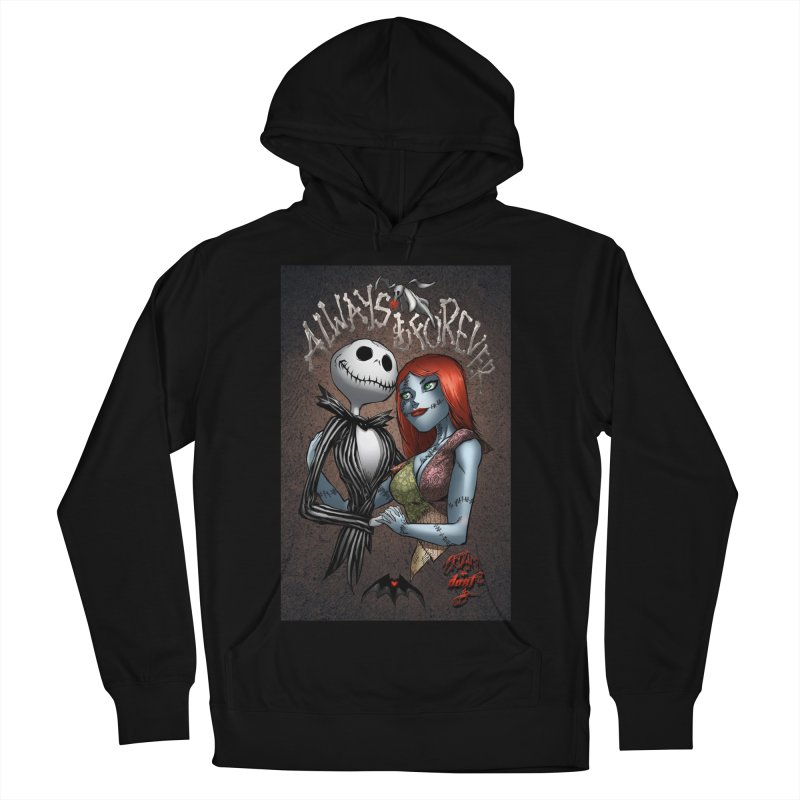 Jack & Sally - Always & Forever Men's French Terry Pullover Hoody by EvoComicsInc's Artist Shop