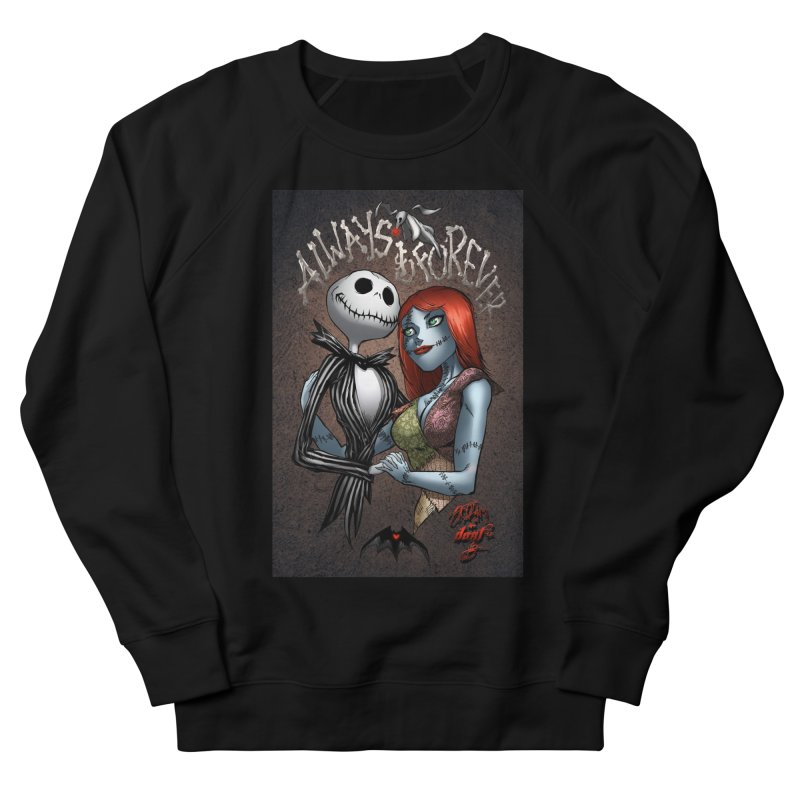 Jack & Sally - Always & Forever Women's French Terry Sweatshirt by EvoComicsInc's Artist Shop