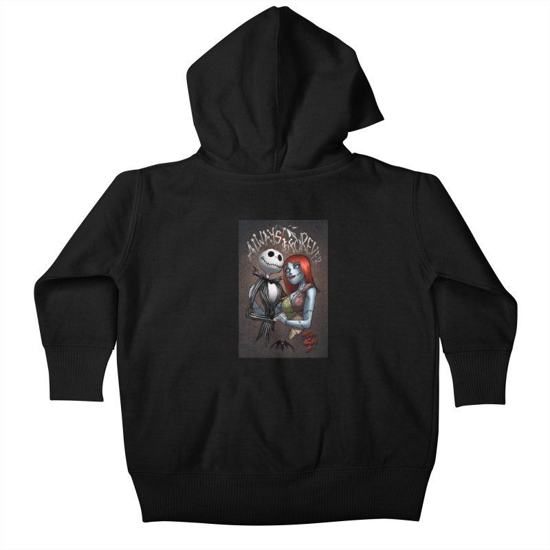 Jack & Sally - Always & Forever Kids Baby Zip-Up Hoody by Evolution Comics INC