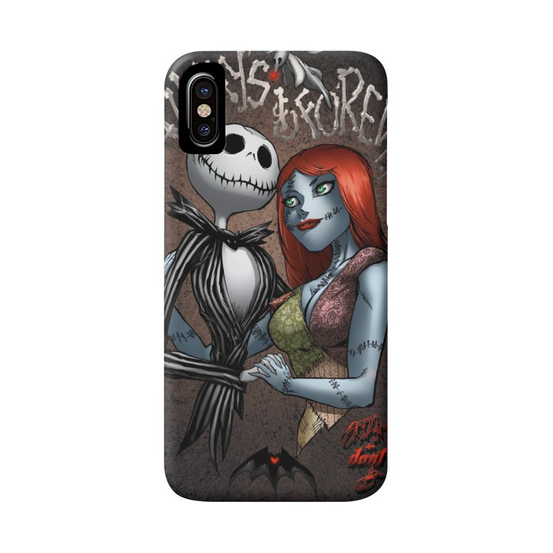 Jack & Sally - Always & Forever Accessories Phone Case by EvoComicsInc's Artist Shop