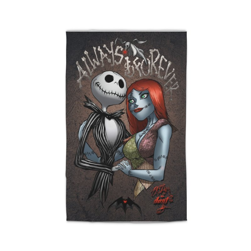 Jack & Sally - Always & Forever Home Rug by Evolution Comics INC
