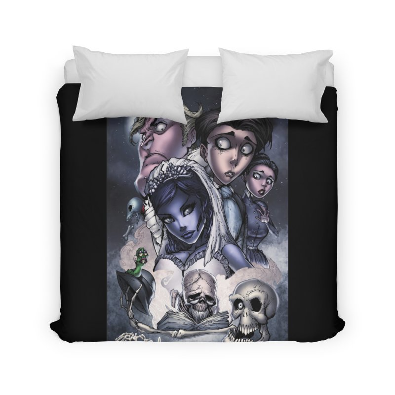 Corpes Bride Home Duvet by Evolution Comics INC