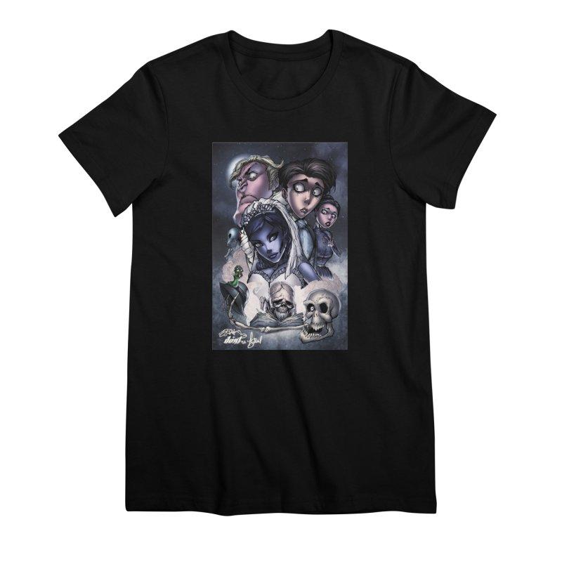 Corpes Bride Women's Premium T-Shirt by EvoComicsInc's Artist Shop