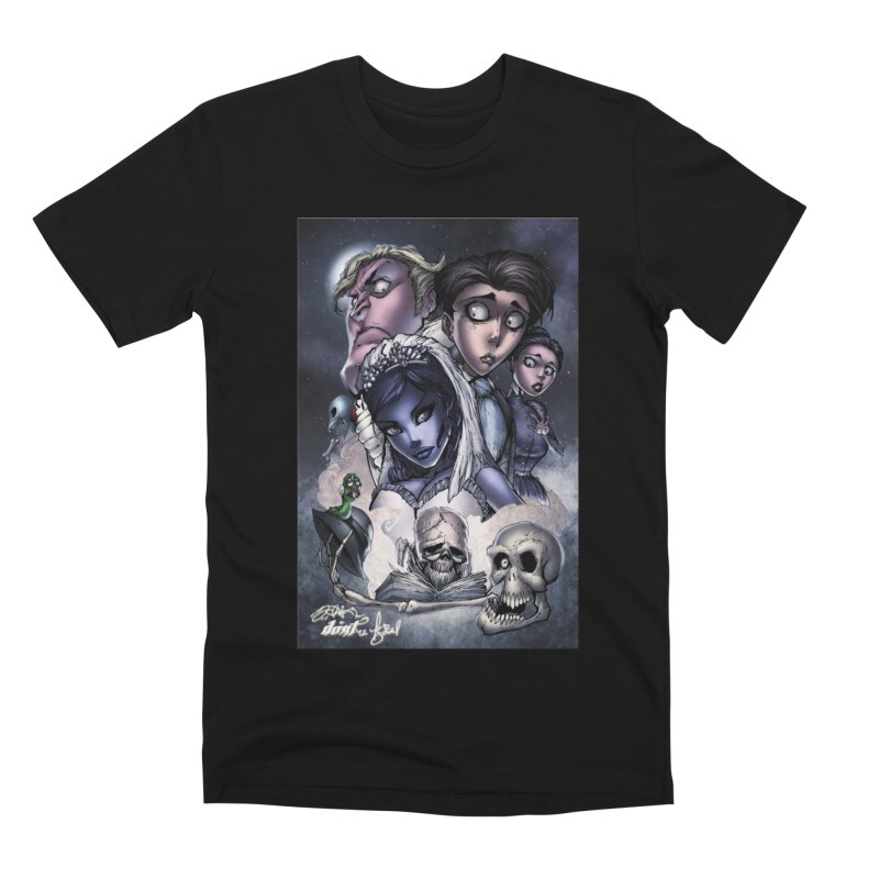 Corpes Bride Men's Premium T-Shirt by EvoComicsInc's Artist Shop