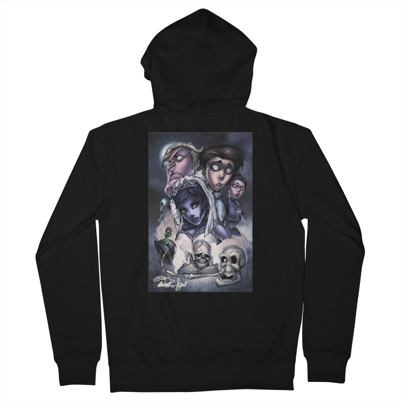 Corpes Bride Men's Zip-Up Hoody by Evolution Comics INC