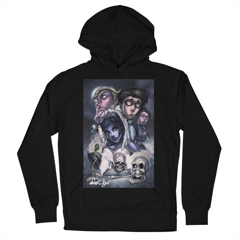 Corpes Bride Men's French Terry Pullover Hoody by EvoComicsInc's Artist Shop