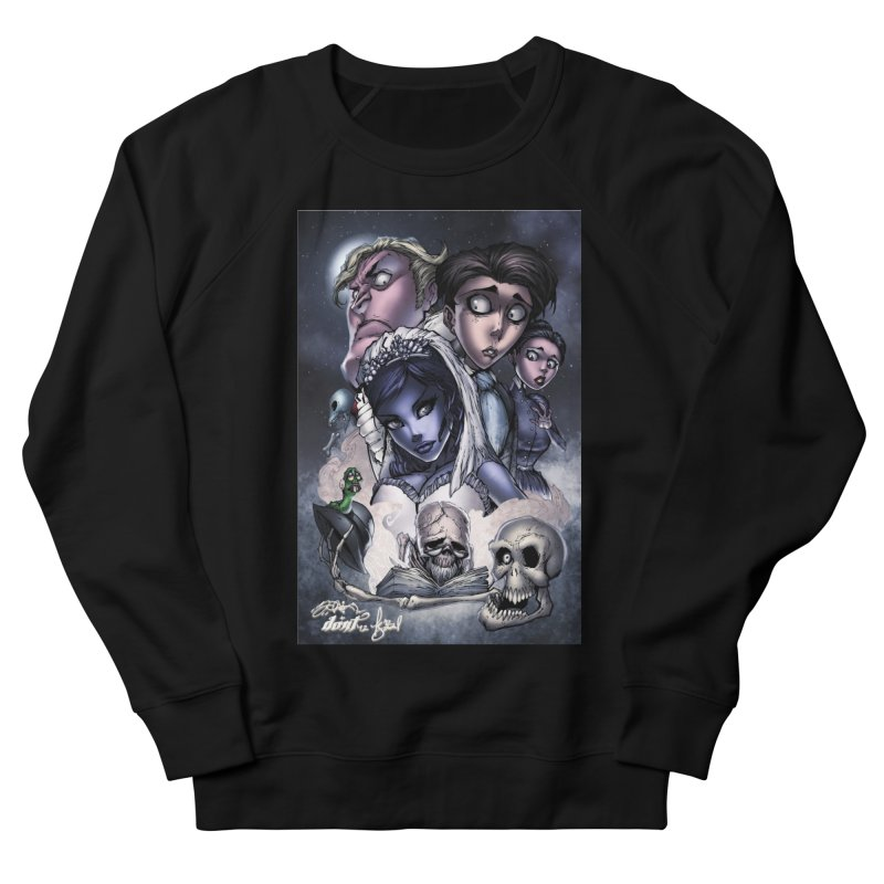 Corpes Bride Women's French Terry Sweatshirt by EvoComicsInc's Artist Shop