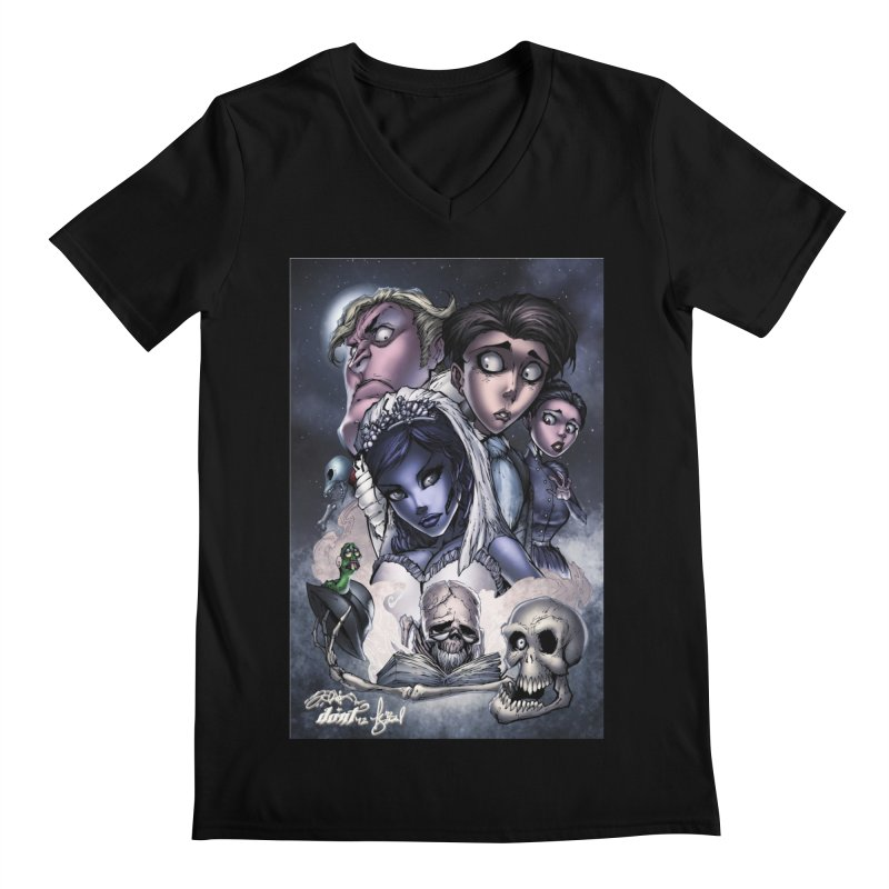 Corpes Bride Men's Regular V-Neck by EvoComicsInc's Artist Shop