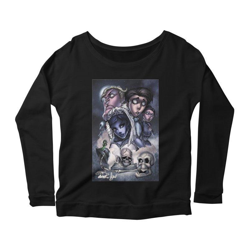 Corpes Bride Women's Scoop Neck Longsleeve T-Shirt by EvoComicsInc's Artist Shop