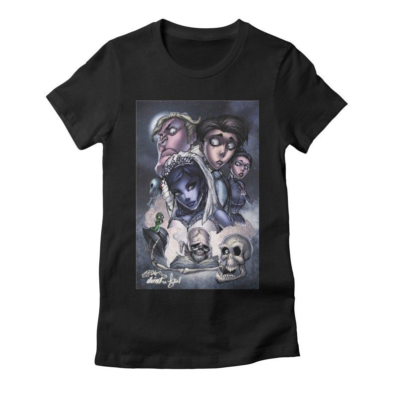 Corpes Bride Women's Fitted T-Shirt by EvoComicsInc's Artist Shop