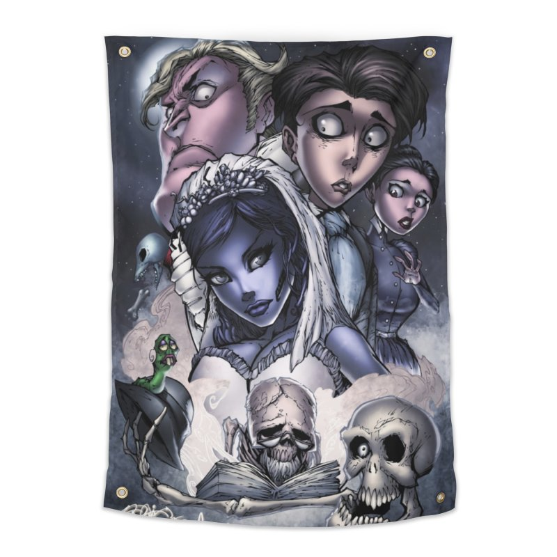 Corpes Bride Home Tapestry by EvoComicsInc's Artist Shop
