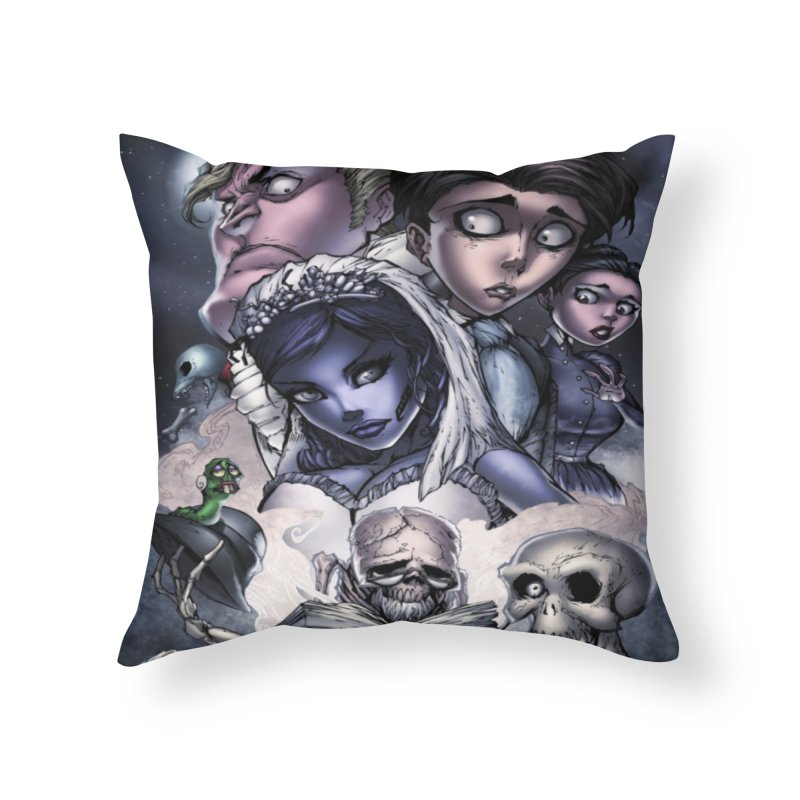Corpes Bride Home Throw Pillow by EvoComicsInc's Artist Shop