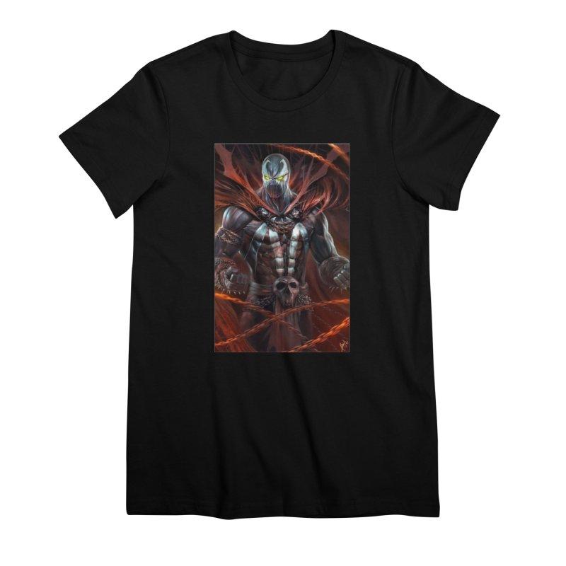 Spawn BM Women's Premium T-Shirt by EvoComicsInc's Artist Shop