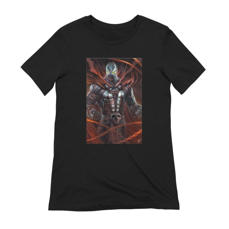 Spawn BM Women's Extra Soft T-Shirt by EvoComicsInc's Artist Shop