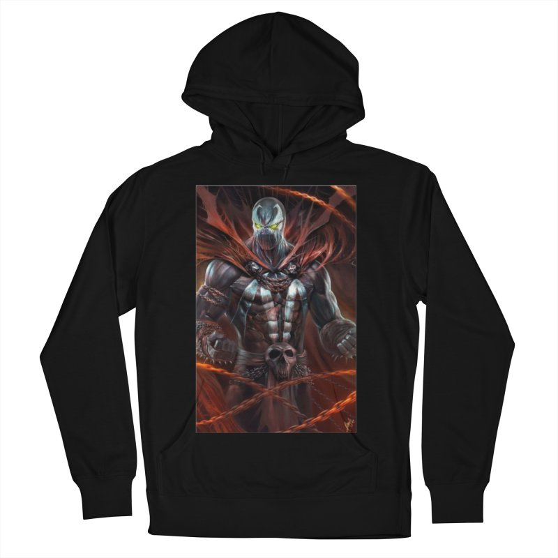 Spawn BM Men's French Terry Pullover Hoody by Evolution Comics INC