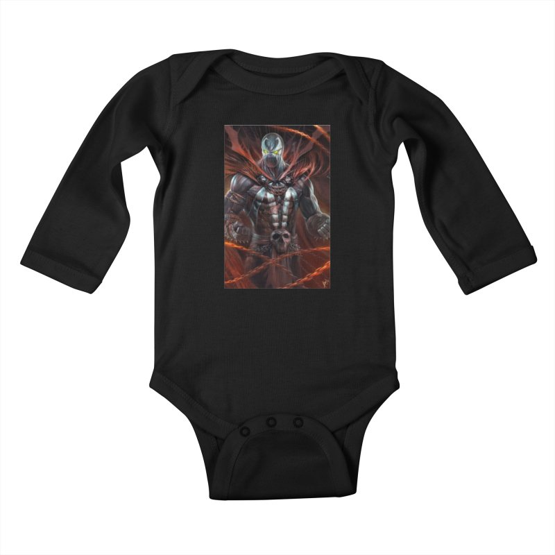 Spawn BM Kids Baby Longsleeve Bodysuit by Evolution Comics INC
