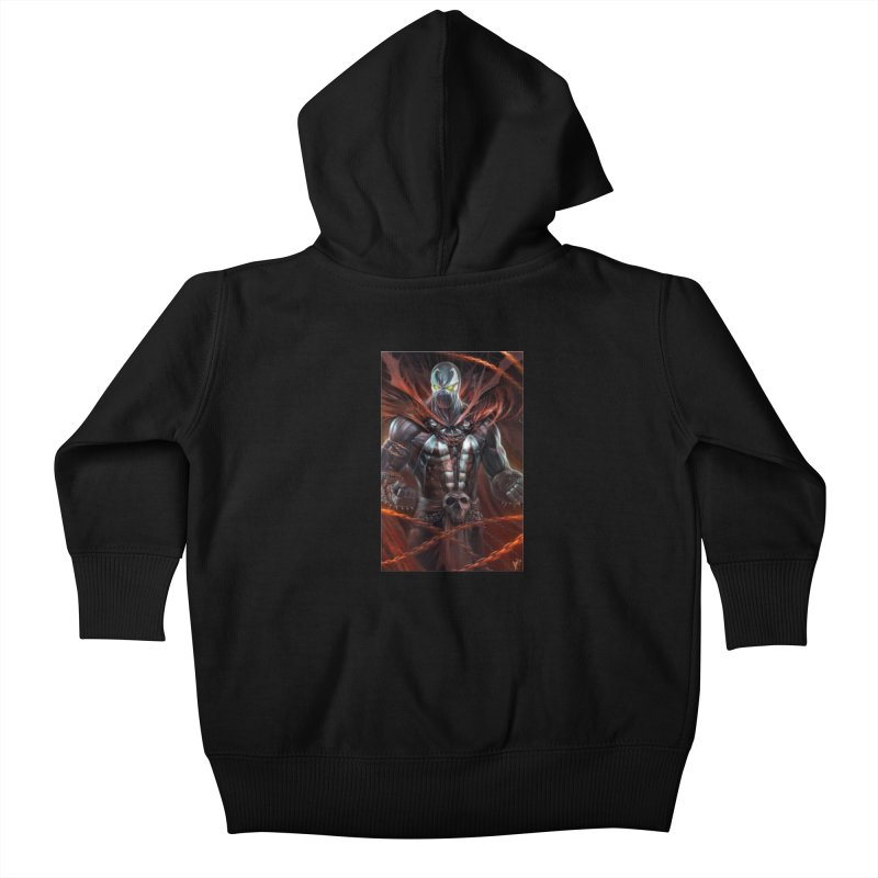 Spawn BM Kids Baby Zip-Up Hoody by Evolution Comics INC