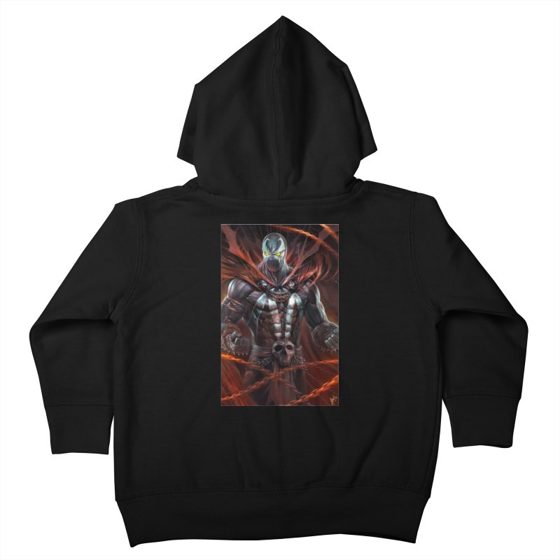 Spawn BM Kids Toddler Zip-Up Hoody by Evolution Comics INC