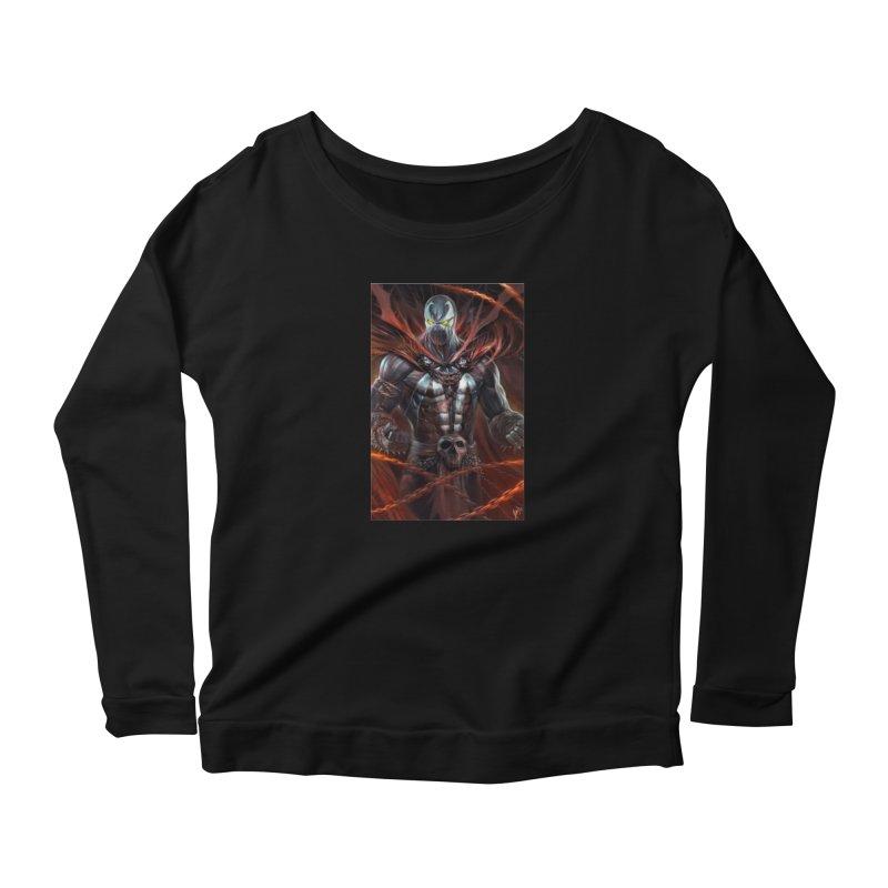 Spawn BM Women's Longsleeve T-Shirt by EvoComicsInc's Artist Shop