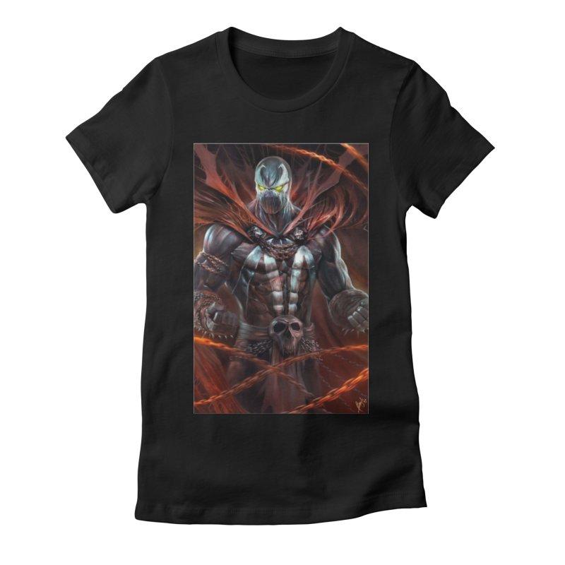 Spawn BM Women's Fitted T-Shirt by EvoComicsInc's Artist Shop