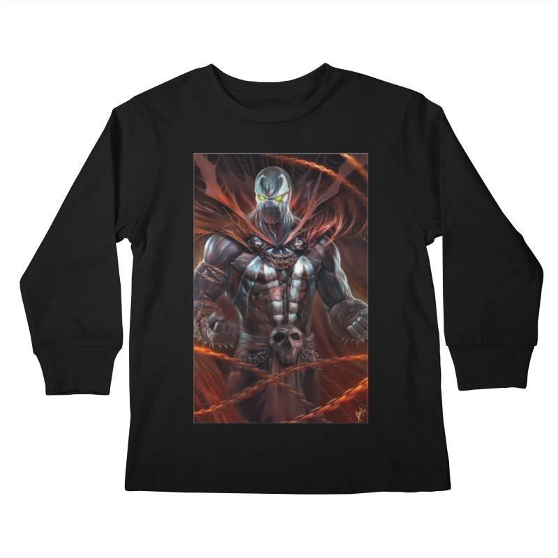 Spawn BM Kids Longsleeve T-Shirt by Evolution Comics INC