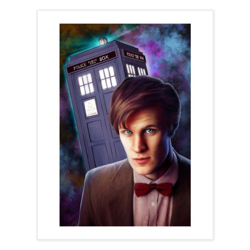 Dr Who 11 (Matt Smith) Home Fine Art Print by EvoComicsInc's Artist Shop