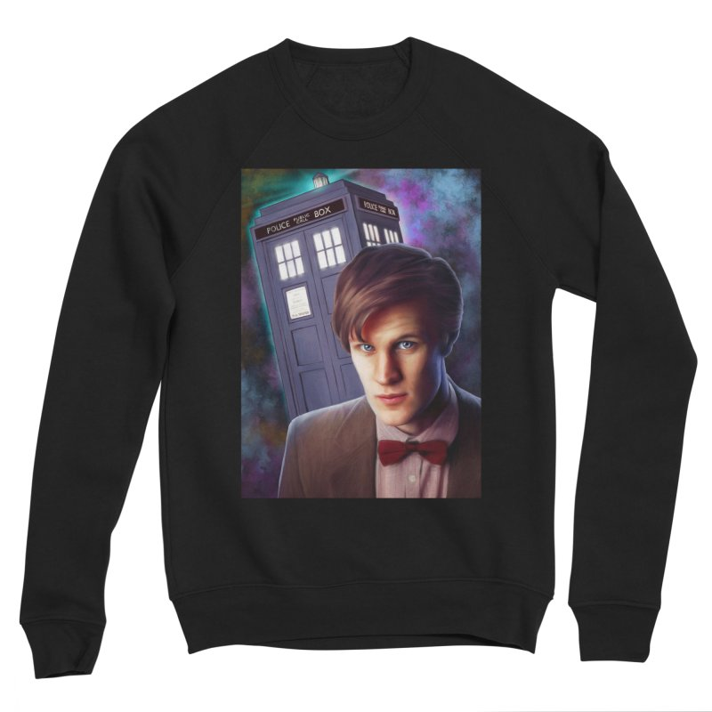 Dr Who 11 (Matt Smith) Women's Sponge Fleece Sweatshirt by EvoComicsInc's Artist Shop