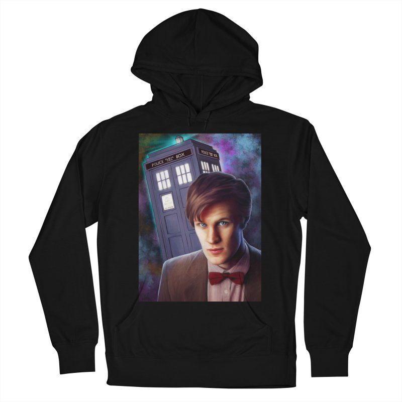 Dr Who 11 (Matt Smith) Women's French Terry Pullover Hoody by EvoComicsInc's Artist Shop