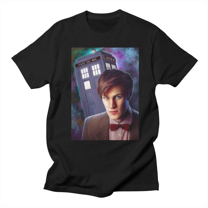 Dr Who 11 (Matt Smith) Women's Regular Unisex T-Shirt by EvoComicsInc's Artist Shop