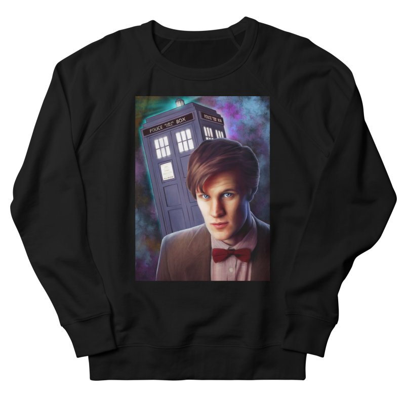 Dr Who 11 (Matt Smith) Men's French Terry Sweatshirt by EvoComicsInc's Artist Shop