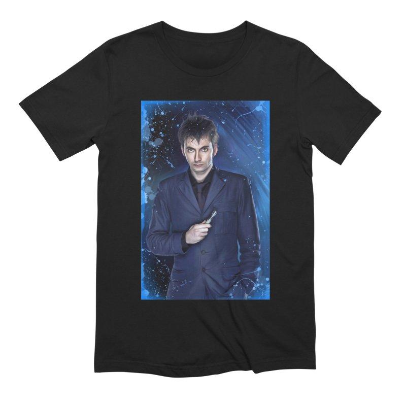 Dr Who 10th (David Tenant) Men's Extra Soft T-Shirt by EvoComicsInc's Artist Shop
