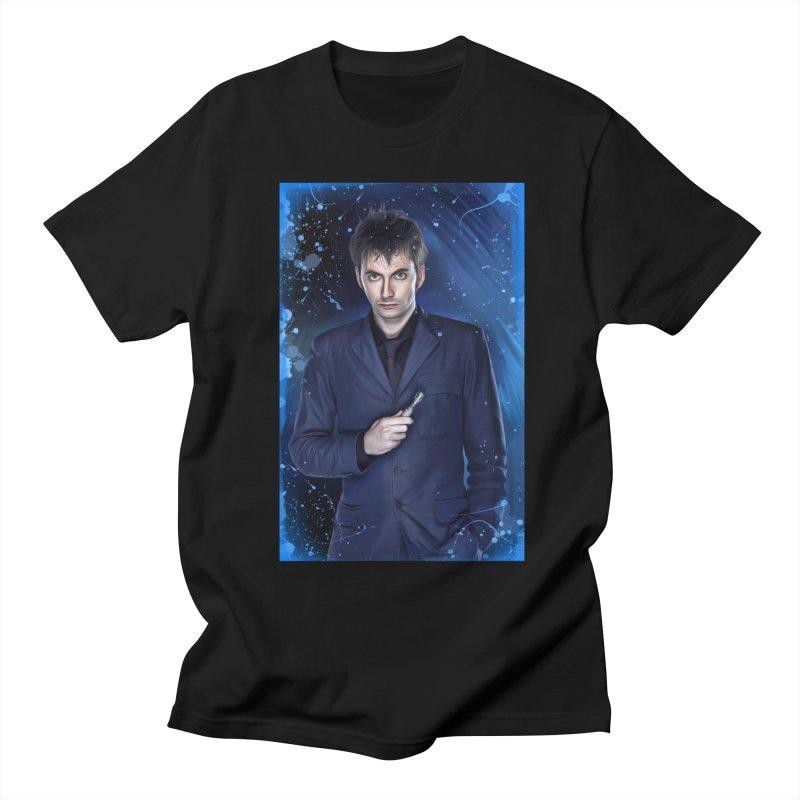 Dr Who 10th (David Tenant) Women's Regular Unisex T-Shirt by EvoComicsInc's Artist Shop